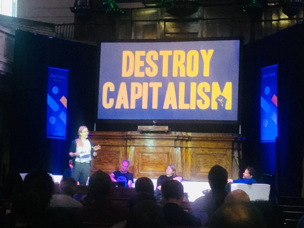 Live speech by Hannah Nicklin