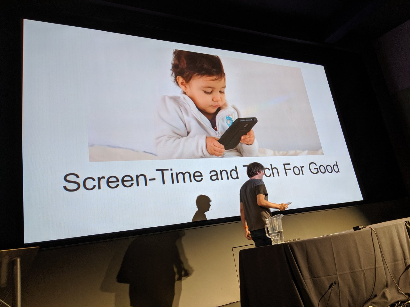 Screen-Time and Tech for Good, a talk