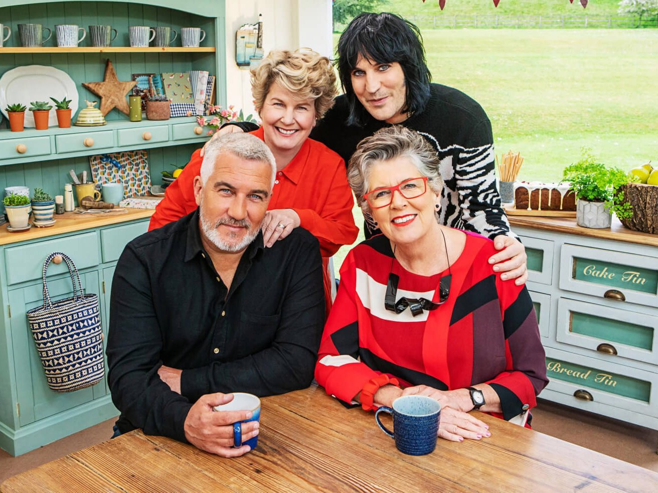 The Great British Bakeoff judges