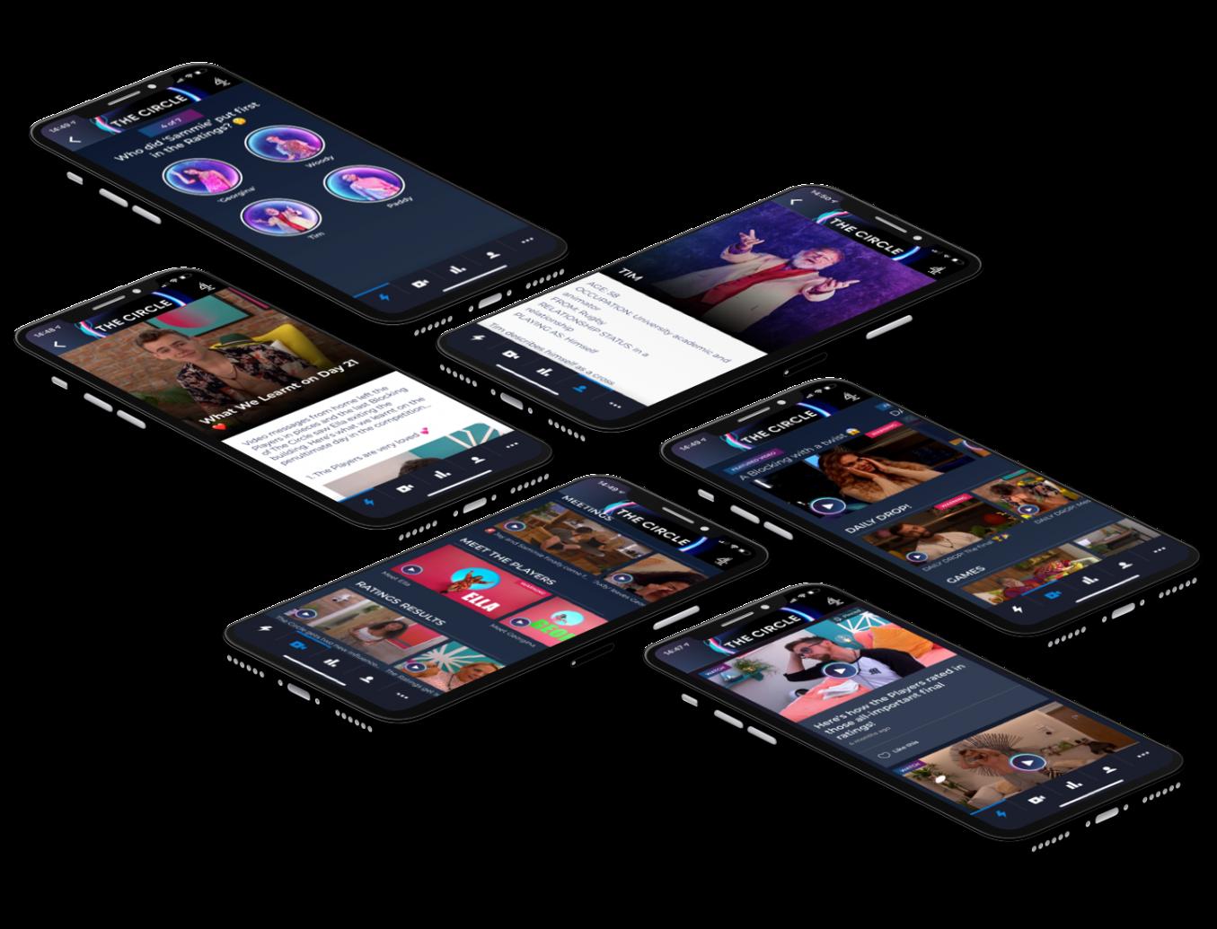 The Circle app - various